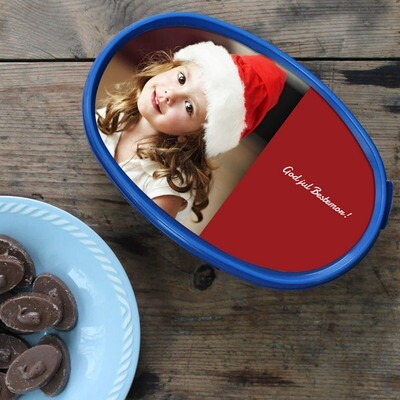 Hval melkesjokolade med ditt eget bilde