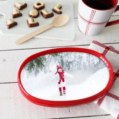 Hval julemarsipan med ditt eget bilde