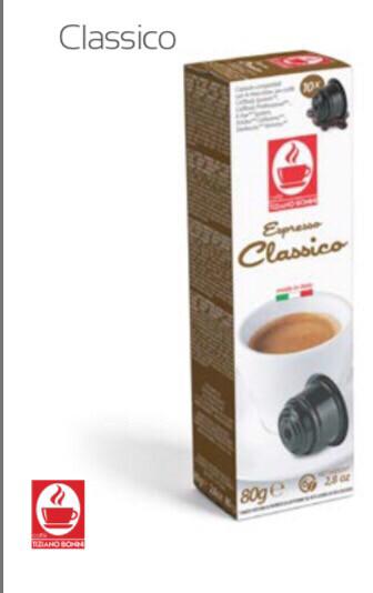 Classico Caffitali espresso 10 пар.