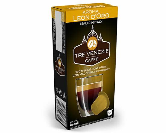 Tiziano Bonini Nespresso Leon D'oro 10 пар