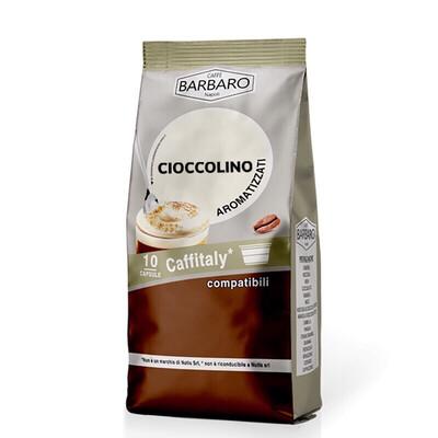 Barbaro Cafeitali CIOCCOLINO Топло чоколадо 10 пар.