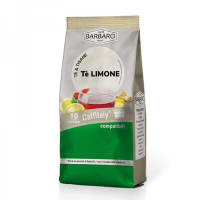 Barbaro Cafeitali  TEA LEMONE 10 пар.