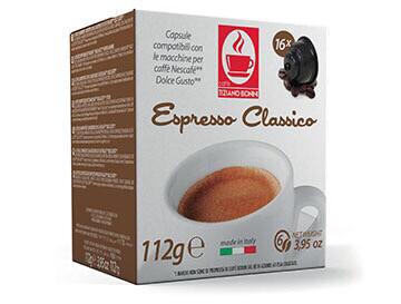Bonini Dolce Gusto Classico Espresso 16 пар.