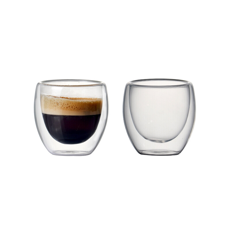 Blue Nåmad double wall 80 ml espresso cup 2х чаши