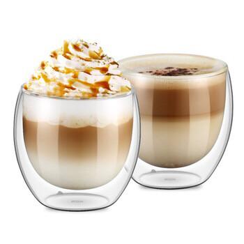 Blue Nåmad double-wall cappuccino/tea cup  160ml  1х чаша