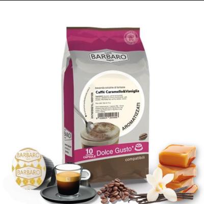 Barbaro Dolce Gusto CARAMELLO&Vaniglia 100% espresso  10 парчиња
