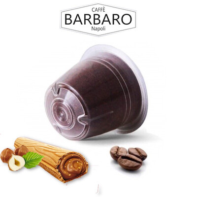 Barbaro Nespresso Nocciolla e Ciocolatto espresso со вкус на Nutella 5 парчиња