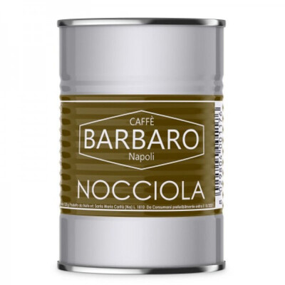Barbaro мелено Еспресо со вкус на Лешник 125 грама
