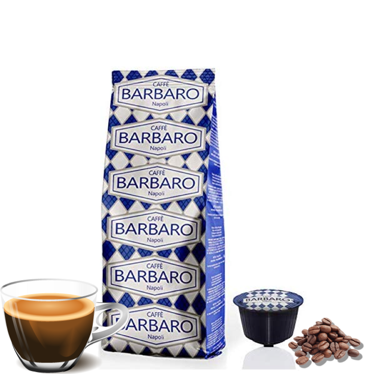 Barbaro Dolce Gusto AMERICANO/филтер кафе Арабика 10 пар.
