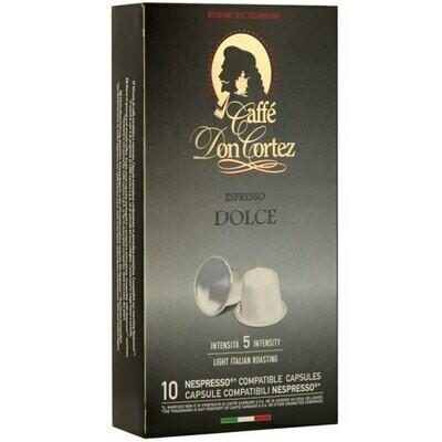 Don Cortez  Nespresso Dolce Arabica 10 пар.
