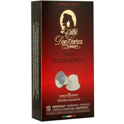 Don Cortez Nespresso Energetico 10 пар.