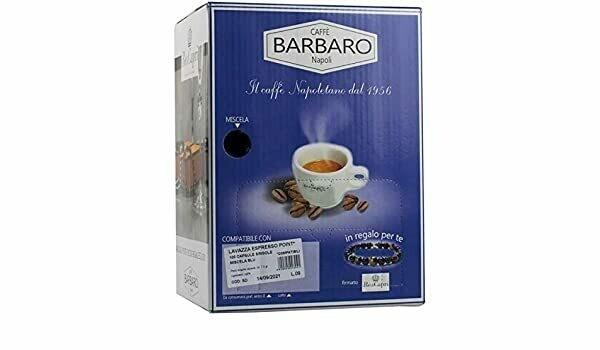 Barbaro Espresso Point Cremoso 80% Robusta box од 100 пар.