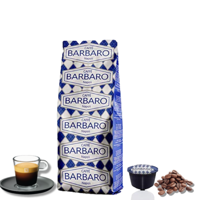 Barbaro Dolce Gusto CREMOSO 80% Robusta espresso  10 пар.