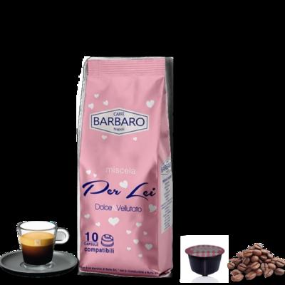 Barbaro Dolce Gusto PER LEI 60% Arabica espresso 10 пар.