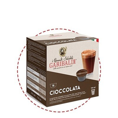 Garibaldi Dolce Gusto Cioccolata топло чоколадо х16 капсули