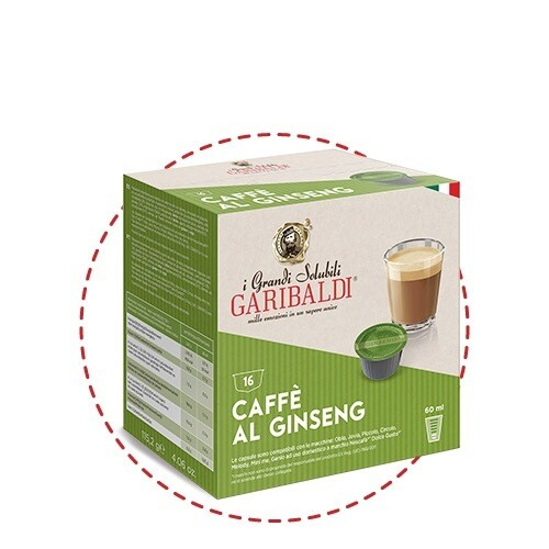Garibaldi Dolce Gusto Gin Seng Капучино/макијато х16парчиња