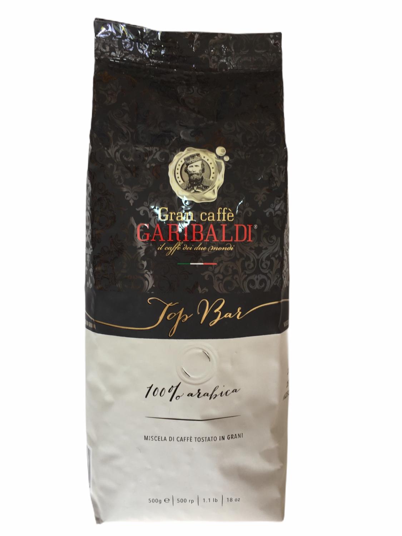 Garibaldi Espresso Зрно Top Bar 100% Arabica 1/2 Kg