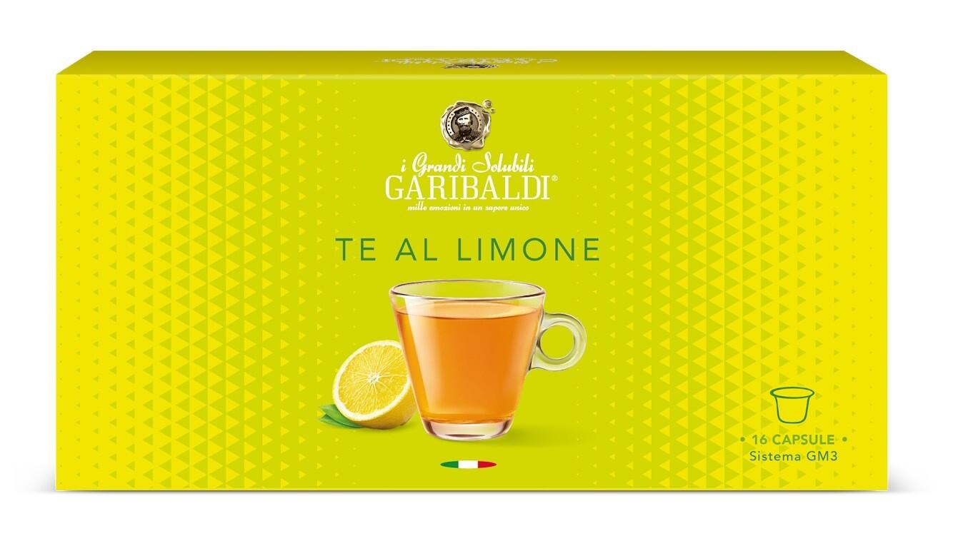 Garibaldi Te Al Limone  Чај од Лимон  х16 капсули