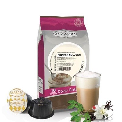 Barbaro Dolce Gusto Ginseng Cappuccino/Макијато х10 капсули