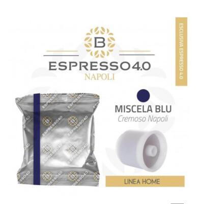 Barbaro Dark Blue Espresso 80% Робуста for Ily Iperespreso x80 парчиња