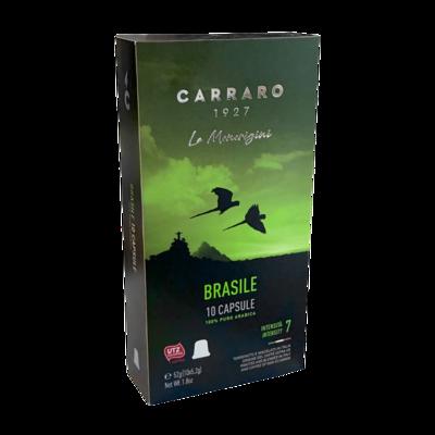 Carraro Nespresso Specialty Brasile-Cerrado Mineiro 10 пар.