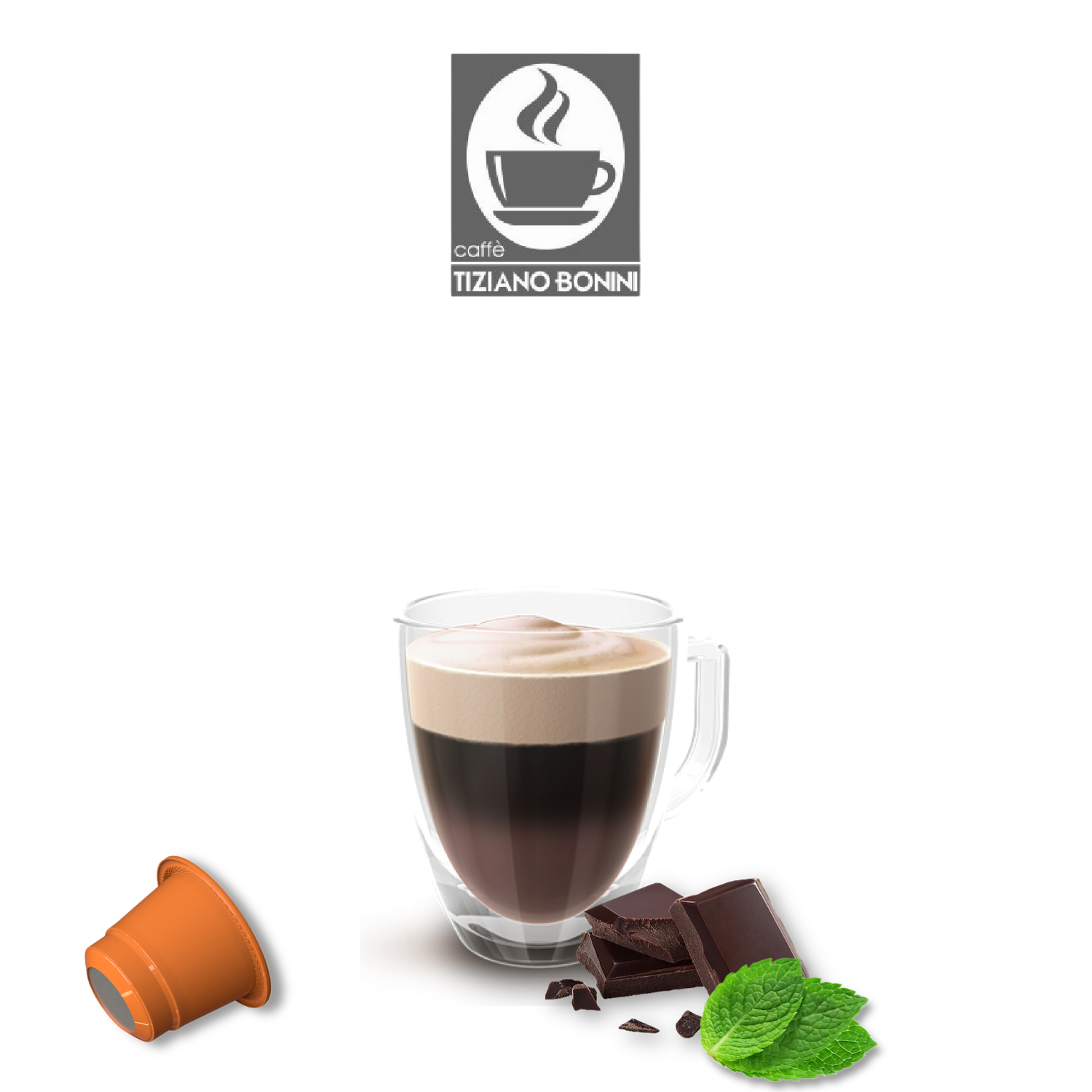Bonini Nespresso After Eight-макијато  х10пар.