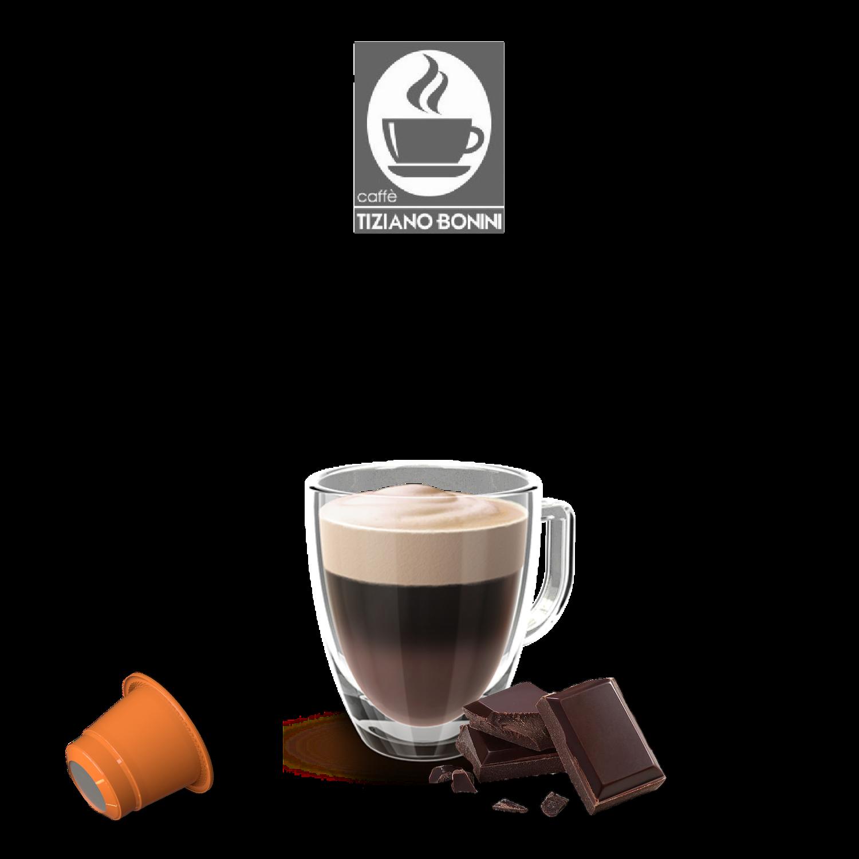 Bonini Nespresso Мини топло чоколадо  х10пар.