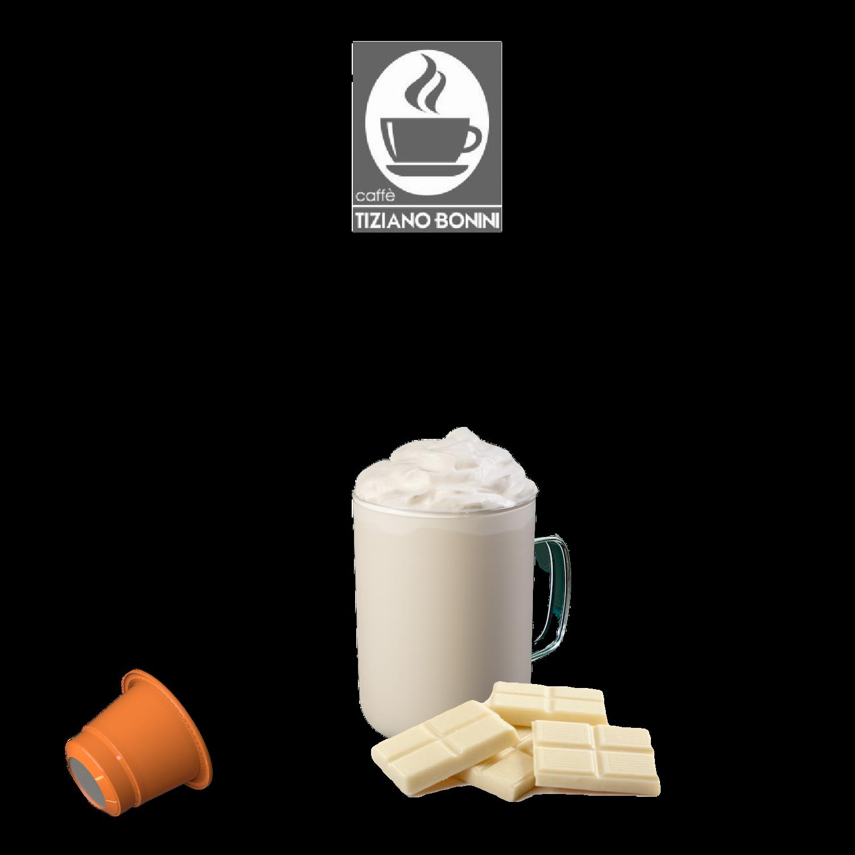 Bonini Nespresso  Мини  Бело топло чоколадо  х10пар.