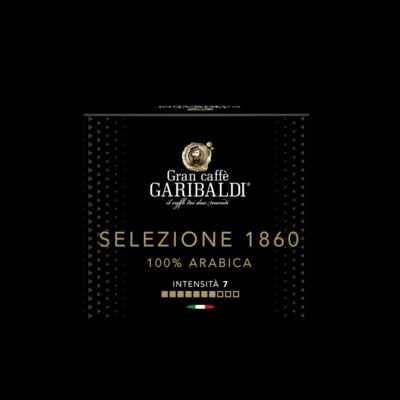 Garibaldi Delizio/Cremesso Selezione 1860  100% Arabica х16 капсули