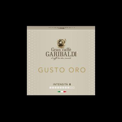 Garibaldi Delizio/Cremesso Gusto Oro 80% Arabica  x16 капсули