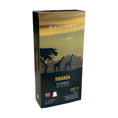 Carraro Nespresso Specialty Bourbon Arabica Rwanda x10 пар.