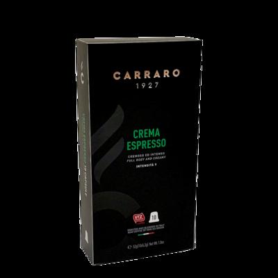 Carraro Nespresso Crema Espresso  10 пар.
