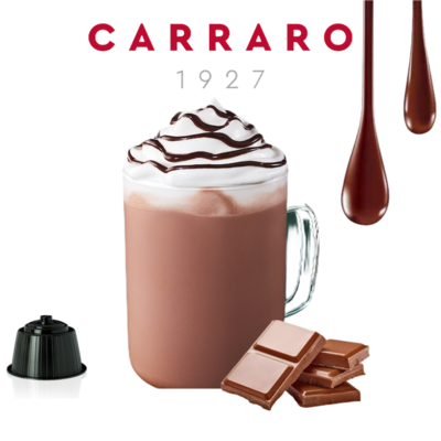 Carraro™️Dolce Gusto Hot Chocolate x1 капсула
