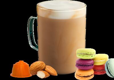 Bonini Dolce Gusto Macaron latte/cappuccino  x16 капсули