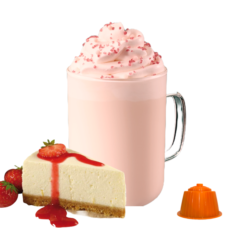 Bonini Dolce Gusto Cheesecake Strawberry Latte х16 капсули