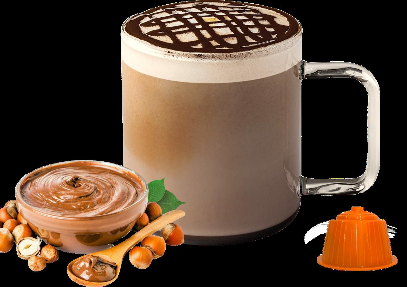 Bonini Dolce Gusto чоко лешник latte/cappuccino x16 капсули