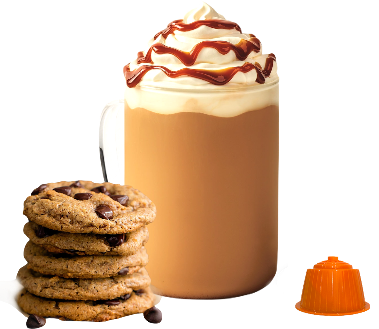 Bonini Dolce Gusto Cookies biscotto latte/cappuccino x16 капсули