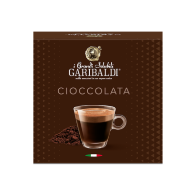 Garibaldi Delizio/Cremesso Ciocolato Чоколадо х16 капсули