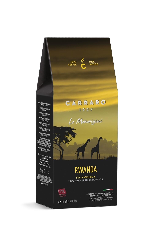 Carraro Мелено Rwanda Specialty  Bourbon Arabica 250 гр.