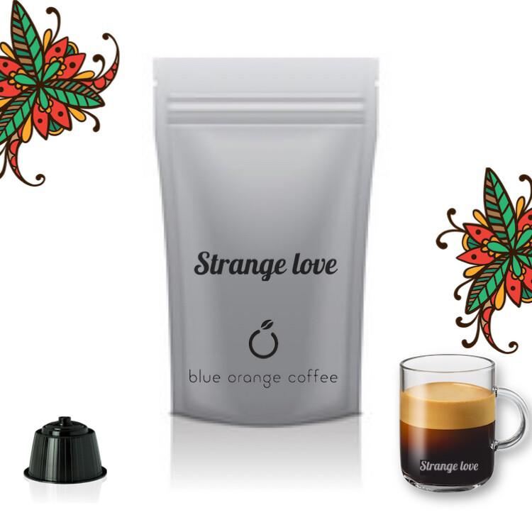 Strange Love®️🇮🇹Dolce Gusto  x16 капсули 75% Arabica Espresso
