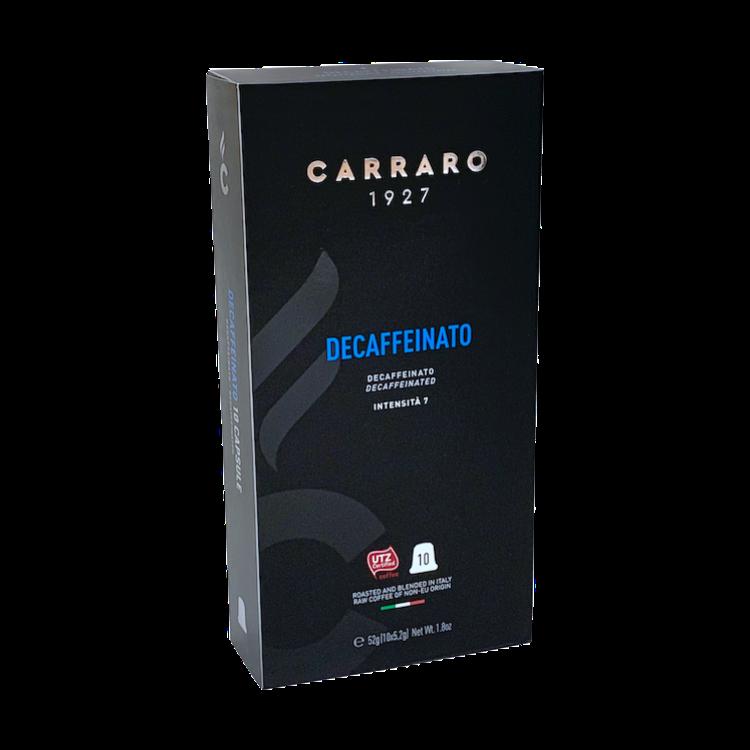 Carraro Nespresso*Decaffeinato 10 пар