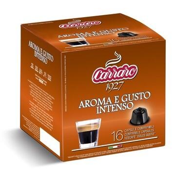 Carraro Dolce Gusto Aroma e Gusto espresso 16 парчиња