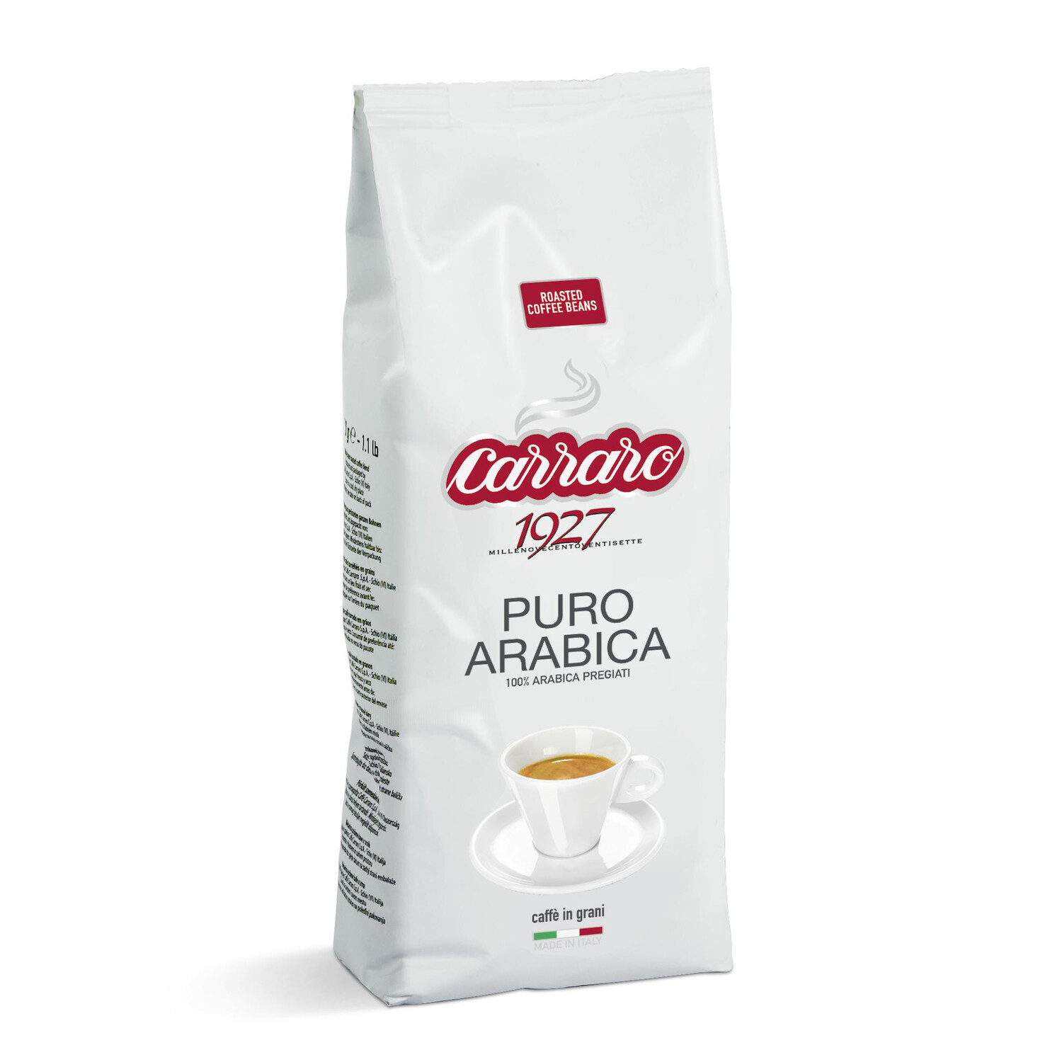 Carraro Puro Arabica еспресо зрно 1/2 kg