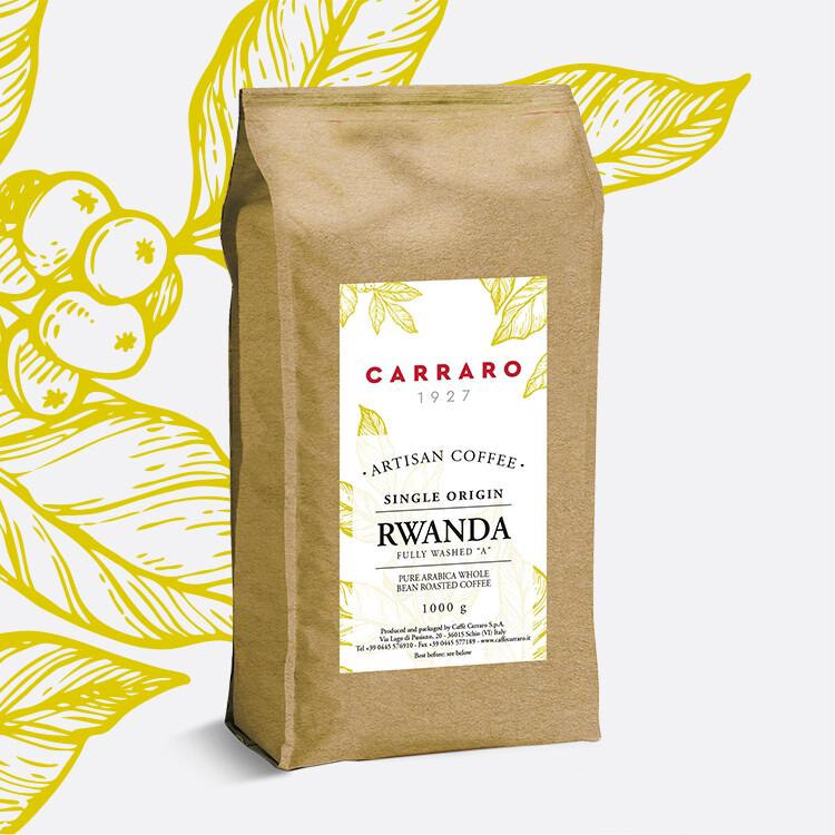 Carraro Rwanda Bourbon Specialty Arabica еспресо зрно 1 Kg