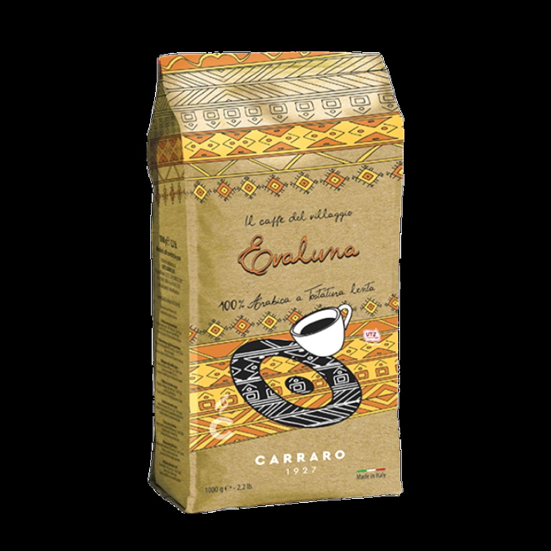 Evaluna  Carraro Artisan specialty 1kg Arabica Зрно