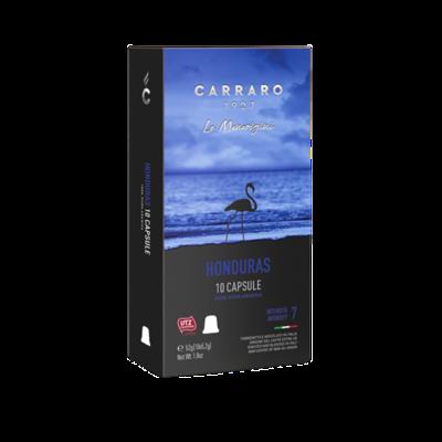 Carraro Nespresso Specialty Honduras LaFlor Arabica х10 пар.