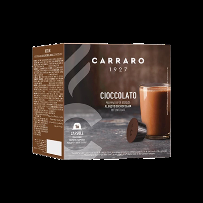 Carraro Dolce Gusto HOT Chokolate-Италијанско Топло Чоколадо Carraro  16 пар. (двојна доза)