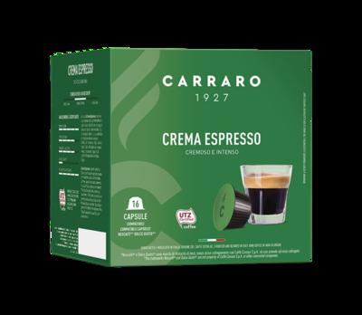 Carraro Dolce Gusto Crema Espresso  16 парчиња