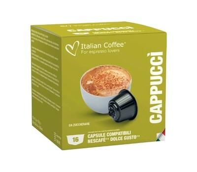 Italian Coffee™️Dolce Gusto Cappuccino без шеќер x16 капсули
