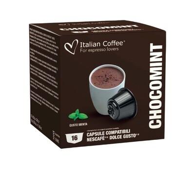 Italian Coffee™️Dolce Gusto ChokoMint Топло ЧОКОЛАДО (After Eight вкус) x16капсули